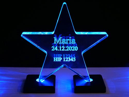Acrylic Star (illuminated)