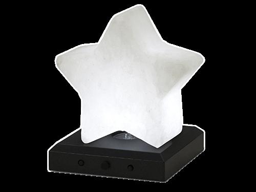 Salt crystal star